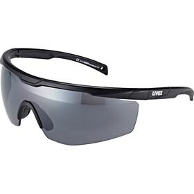 UVEX Sportstyle 117 Sportsbriller, black mat/silver